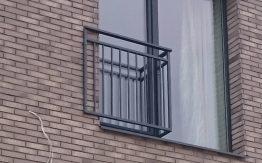 metaliniai turėklai