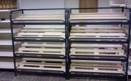 metaliniai baldai